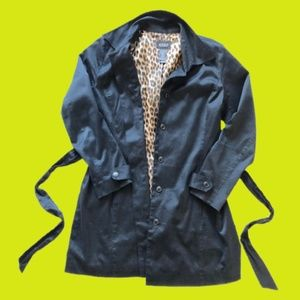 Liz Claiborne Studio Black Lightweight Coat, S 14